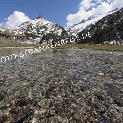 Bachlauf Pyrenäen beim Pico Aneto
