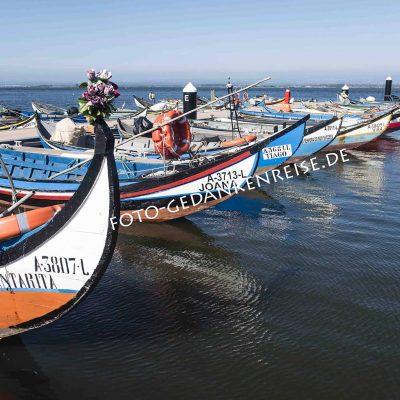Boote bei Aveiro Portugal