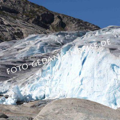 Gletscher Nigardsbreen Norwegen