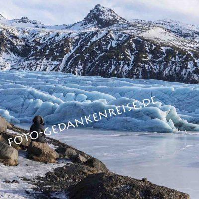 Gletscher Svinafell Island