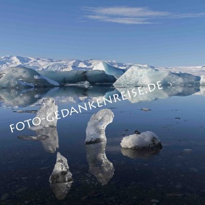 Jökulárlon Eislandschaft Island