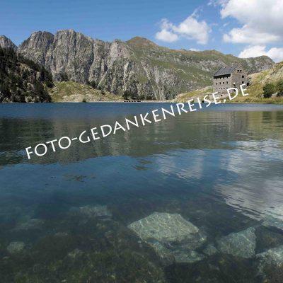 Lago de Colomers Pyrenäen