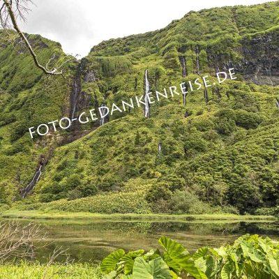 Wasserfälle Flores Azoren